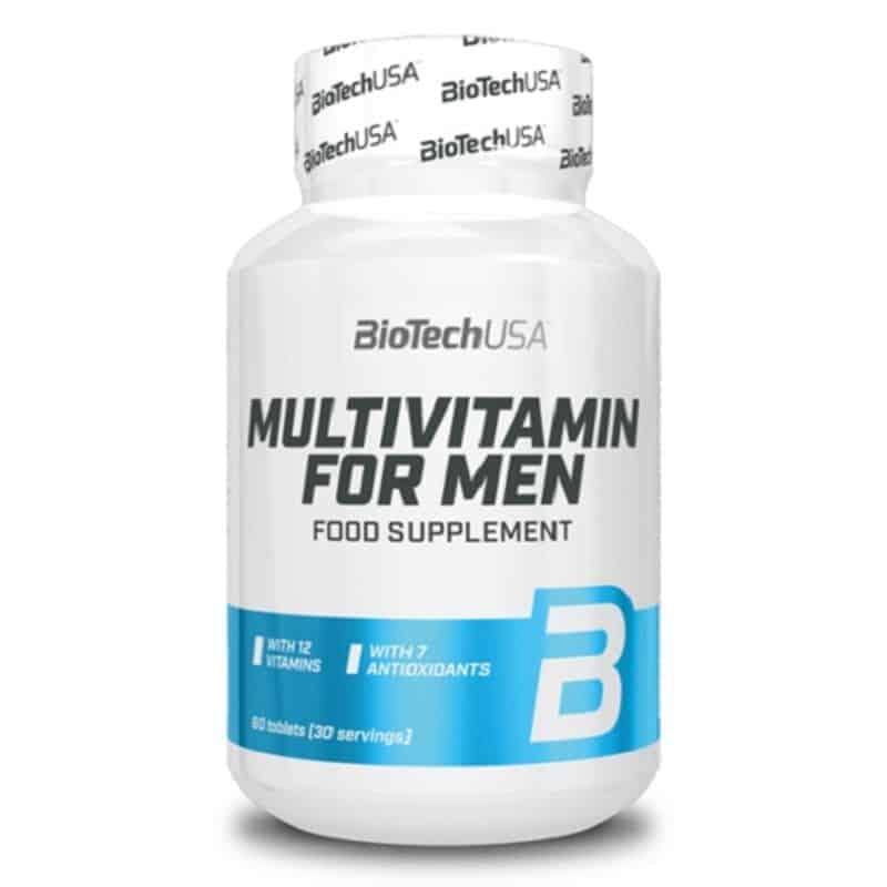 BioTech Multivitamin for Men – 60 Tabletten
